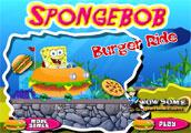 Sponge bob burger ride
