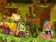 Sponge bob Halloween Truck
