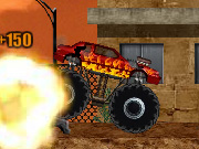 Monster truck kizi demolishes