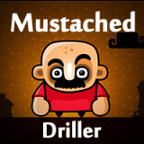 Mustached friv driller