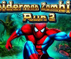 Spider man zombie run 2 kizi
